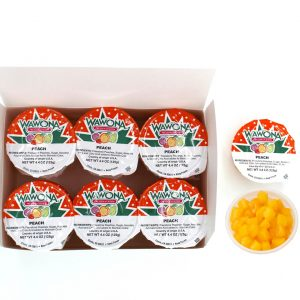 Wawona Frozen Foods Peach Cups