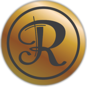 Raphio chocolate sticker logo